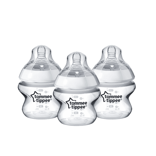 3 x 150ml Closer to Nature Easi-Vent Bottles