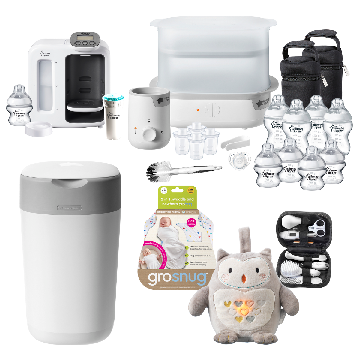 white-perfect-prep-complete-feeding-kit-twist-and-click-confetti-grosnug-grofriend-and-healthcare-kit