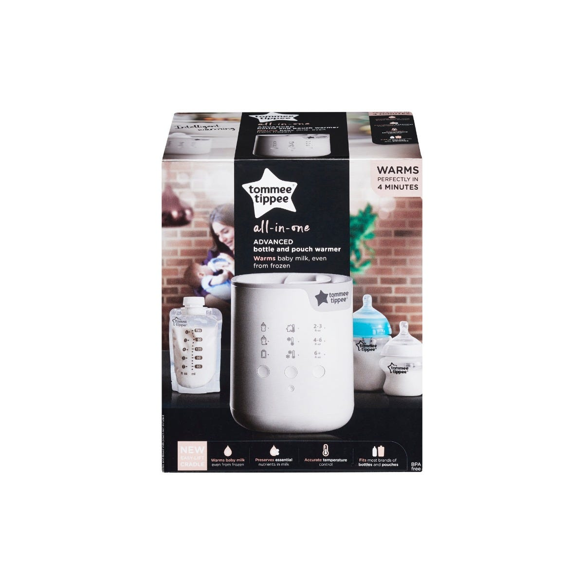 3-in-1 Advanced Bottle and Pouch Warmer packaging
