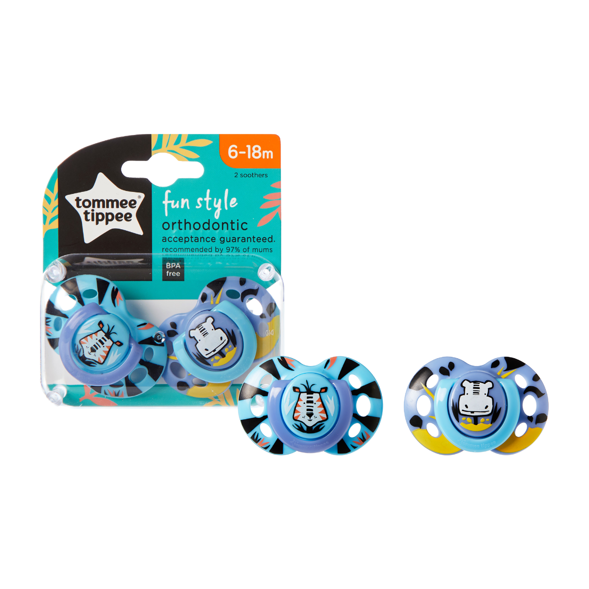6-18-month-fun-style-soother-blue-tiger-and-hippo
