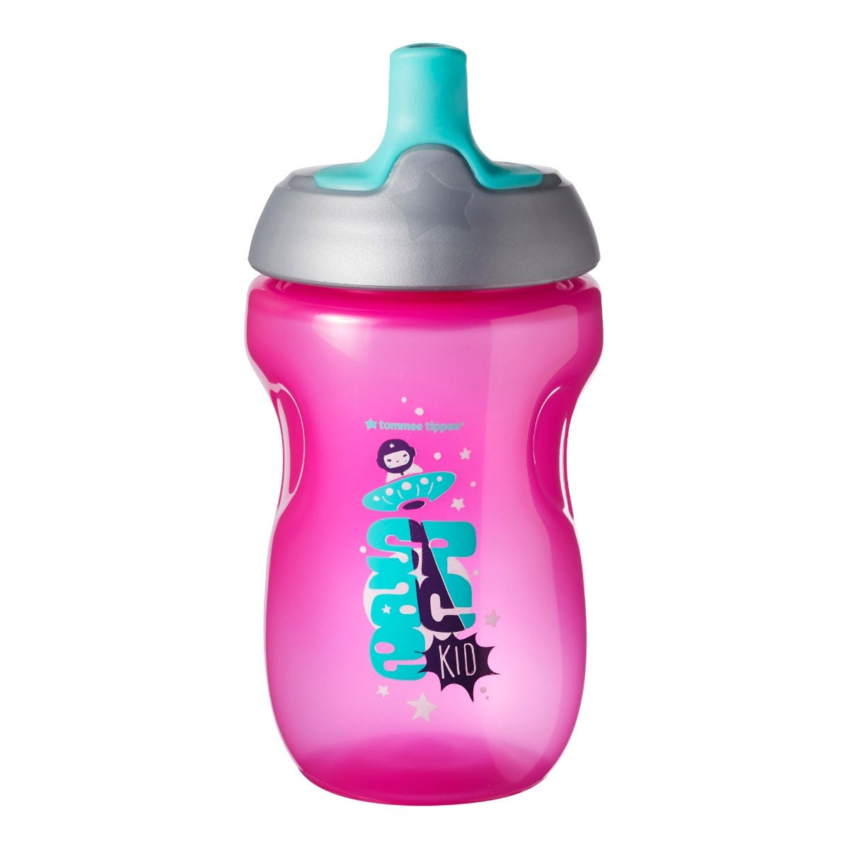Active sports bottle pink