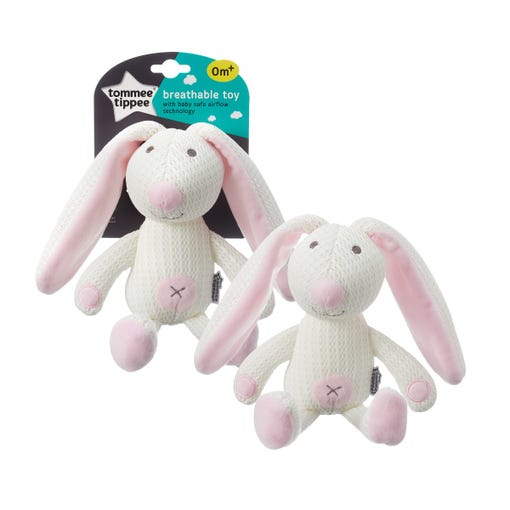 betty bunny breathable toy with packaging