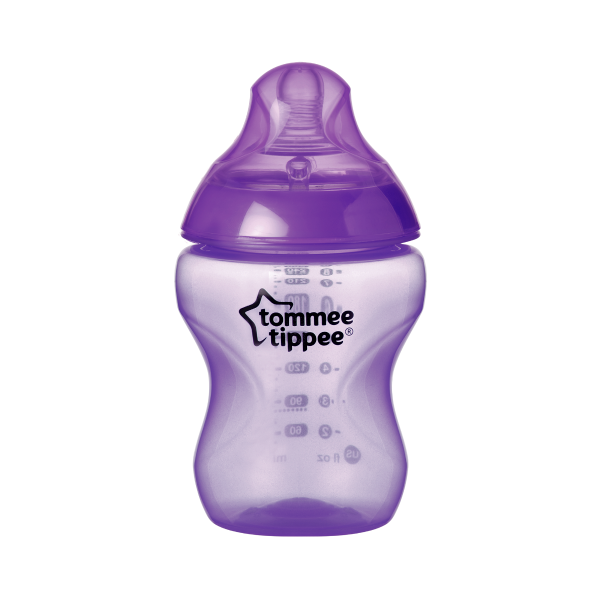 purple-closer-to-nature-baby-bottle