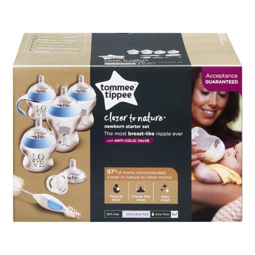 CTN Newborn Starter Set Blue packaging