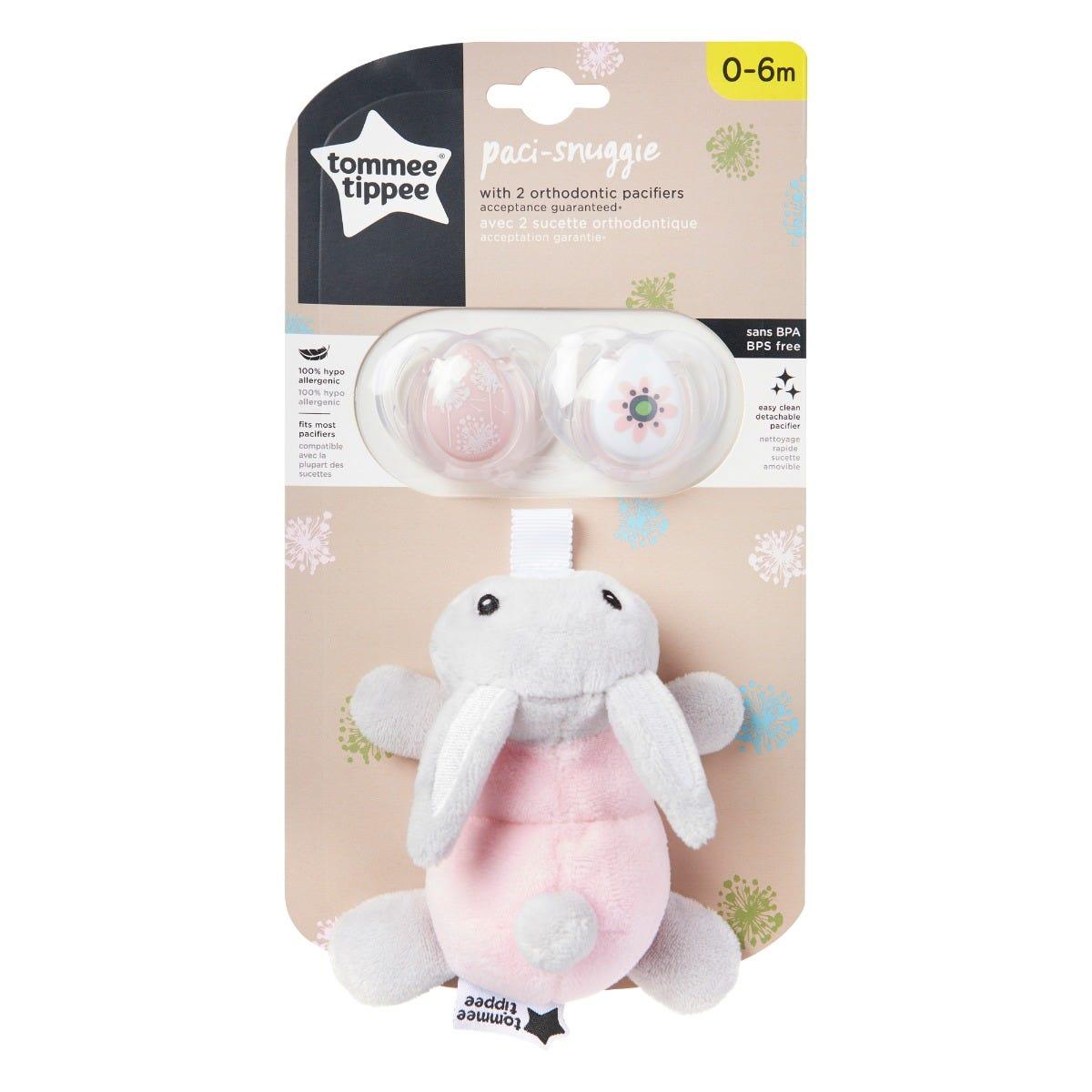rabbit paci snuggie packaging