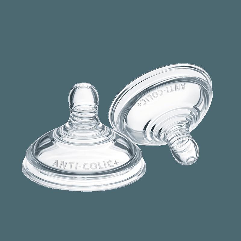 2 x medium flow Advanced Comfort teats