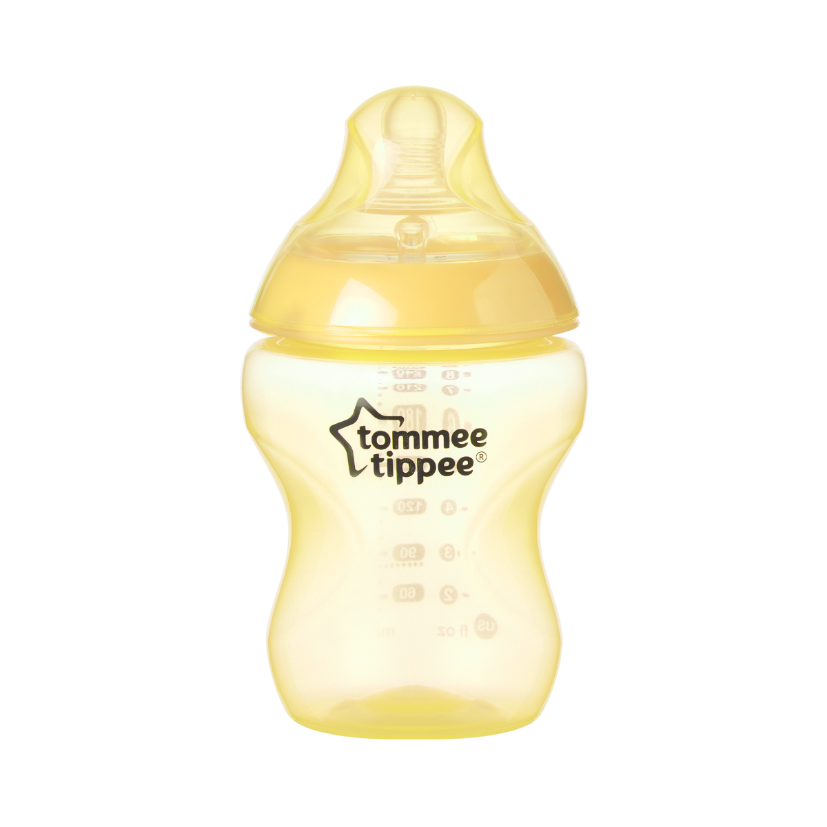yellow-closer-to-nature-baby-bottle