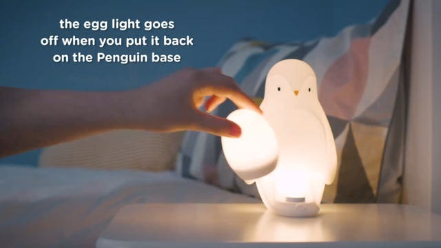 Penguin Night Light How to Use