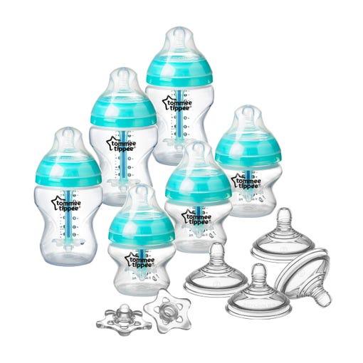Advanced Anti-Colic Bottle & Nipple Starter Set