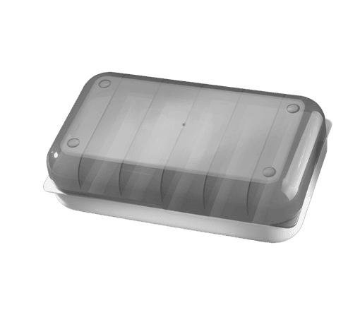 Empty Tommee Tippee Express and Go Storage case top down view