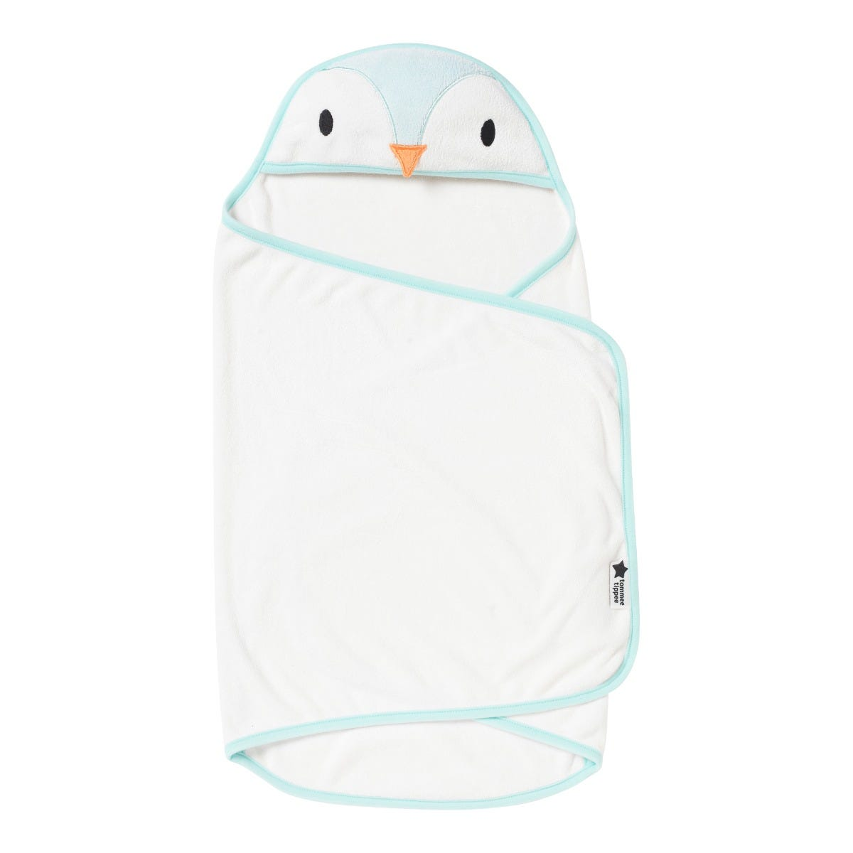 percy the penguin swaddledry towel