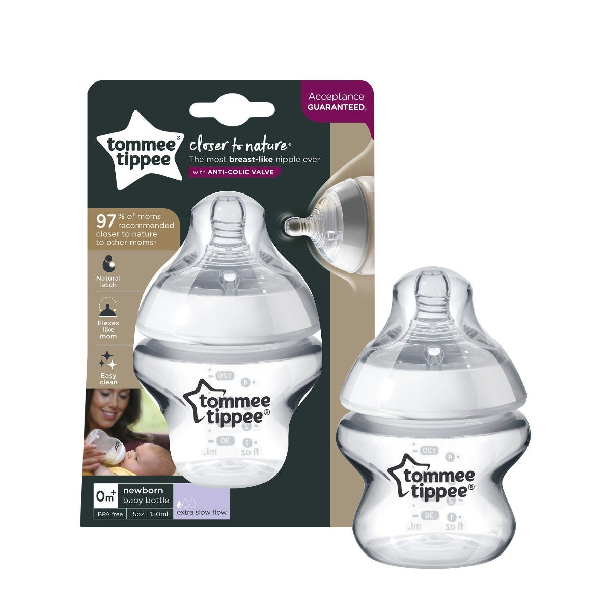 1-x-clear-5-oz-closer-to-nature-baby-bottles-with-tommee-tippee-logo-with-packaging-in-background
