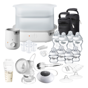 complete-feeding-set-in-white-with-electric-breast-pumps-breast-pads-and-milk-pouches