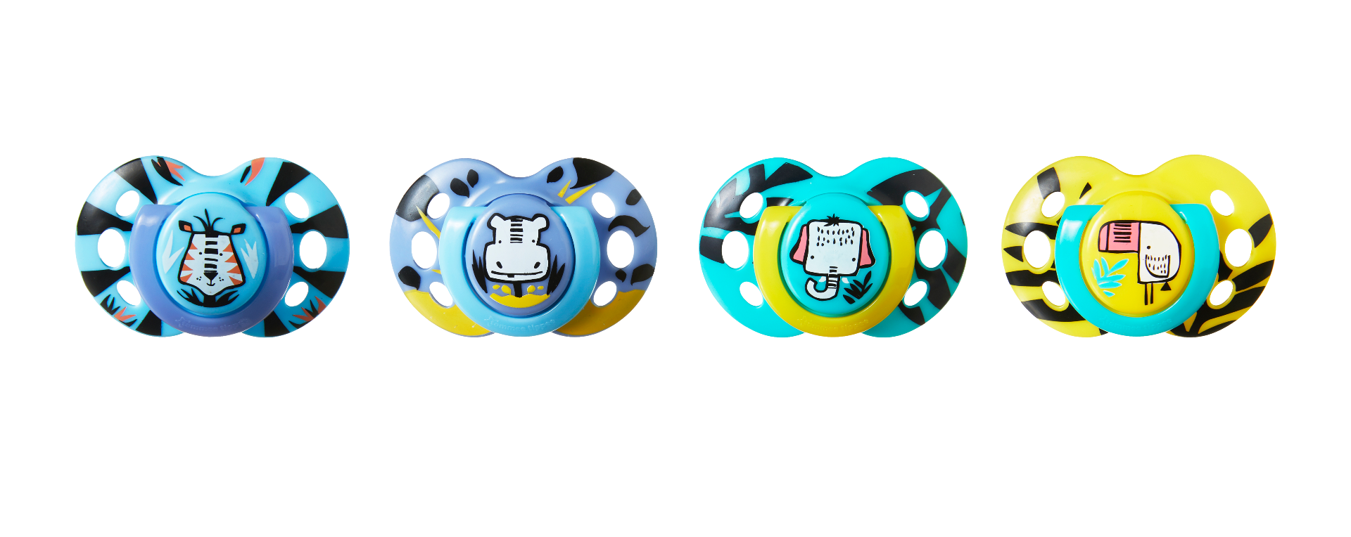 6-18m /… Roar Tommee Tippee Any Time Soother Twin Pack