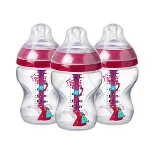 three-260ml-advanced-anti-colic-baby-bottles-pink-elephant-design