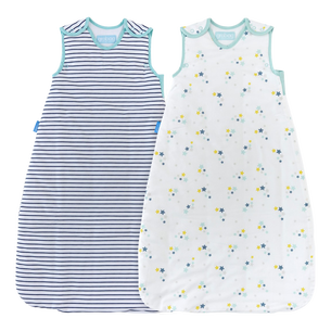 Starry Night Wash & Wear Twin Pack Grobag (1.0 or 2.5 Tog)