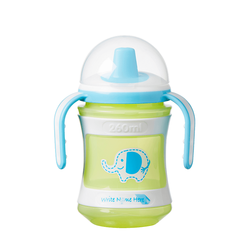 Green and blue Tommee Tippee Explora Training Cup