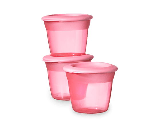 Pink Tommee Tippee Food Pots