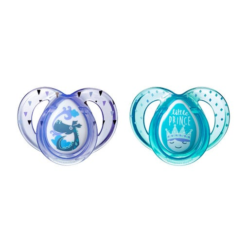 Everyday Little Prince Pacifiers (6-18 months) - 2 pack