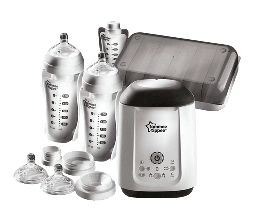 Express and Go Complete Breast Milk Starter Set all components