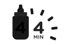 sterilise-four-bottles-in-four-minutes-icon