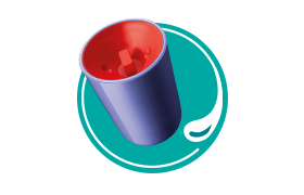 Easiflow-360°-Cup-top-down-icon-to-represent-non-spill