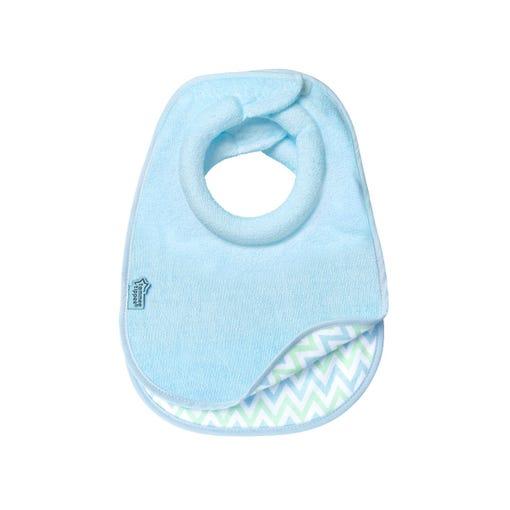 blue comfi neck bib