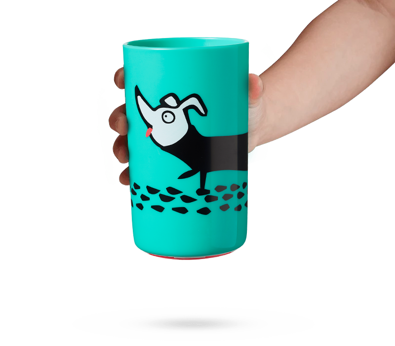 green-dog-no-knock-cup