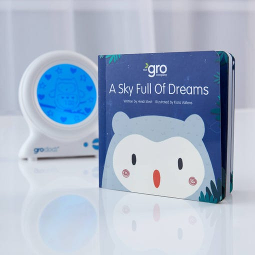 a-sky-full-of-dreams-groclock-book-with-clock-in-background
