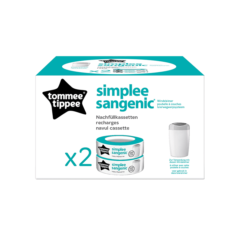Simplee Sangenic Cassette x 2 packaging