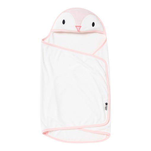 Penny the penguin swaddle dry towel