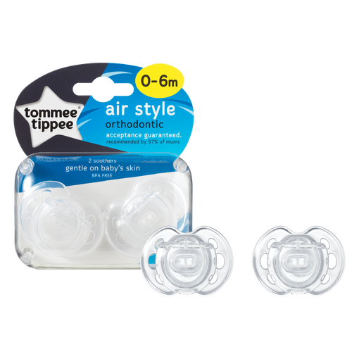 Air Style Soothers & Packaging