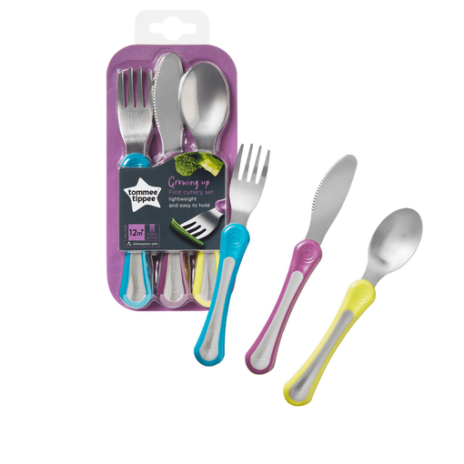 my-first-cutlery-fork-knife-spoon-next-to-packaging