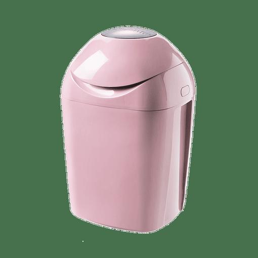 Pink closed Sangenic Tec Nappy Bin