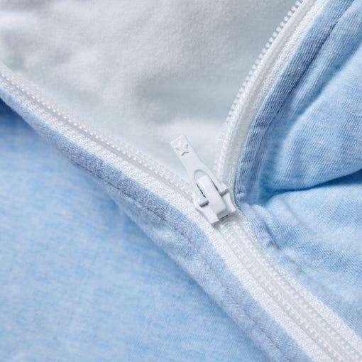 The Original Grobag Blue Marl Sleepbag zip