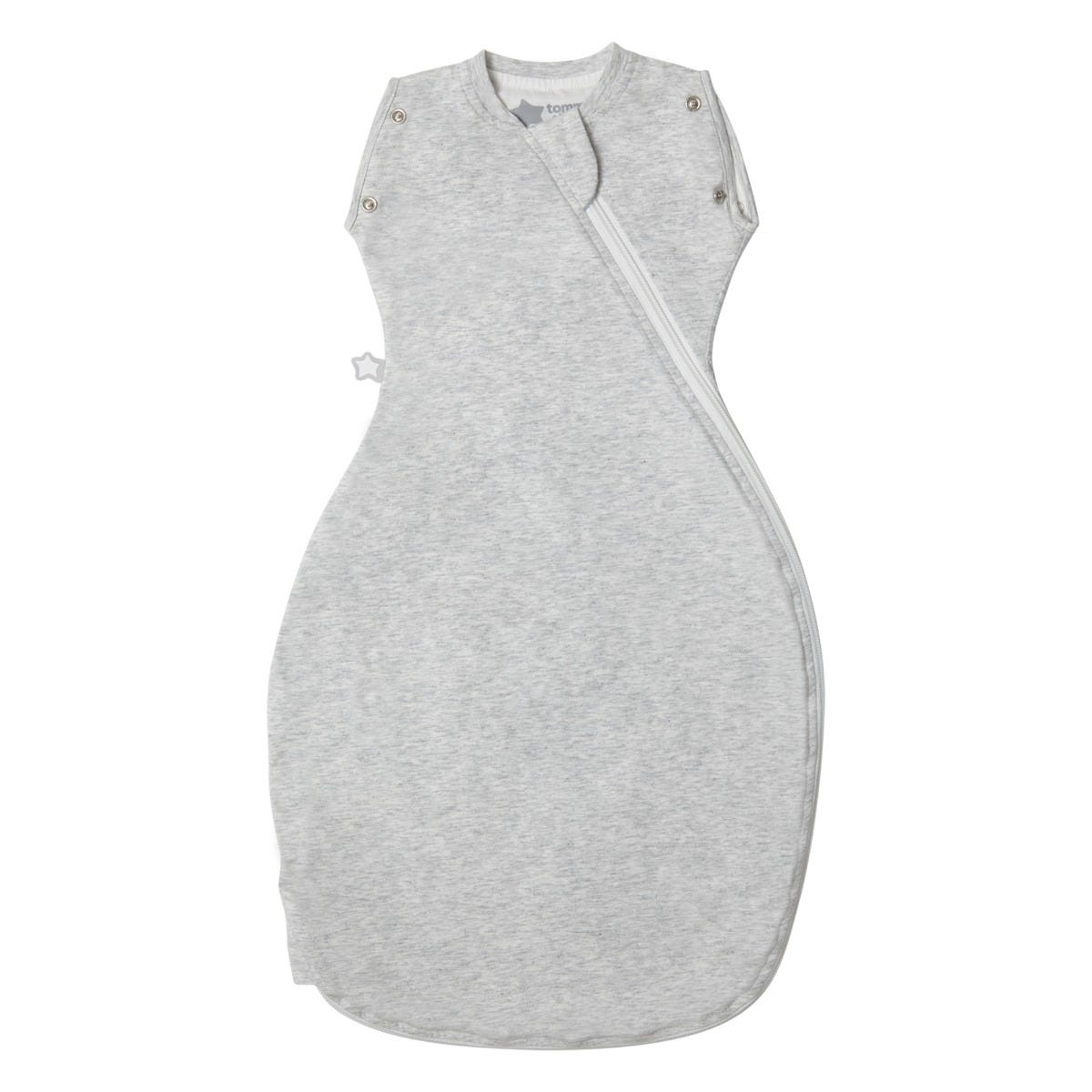The Original Grobag Grey Marl Snuggle