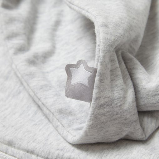 The Original Grobag Grey Marl Snuggle Tommee Tippee Star