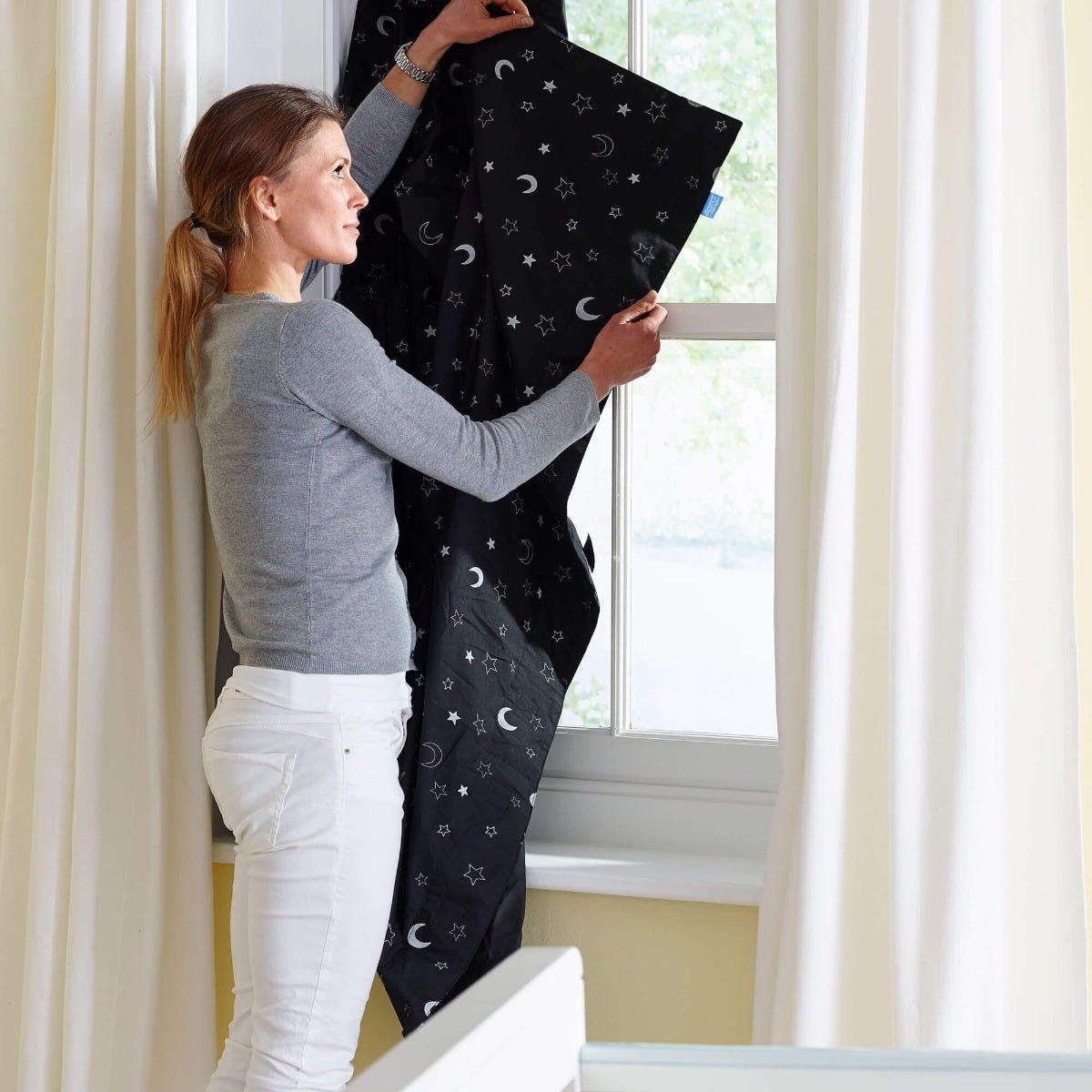 The Gro Company Black Gro Anywhere Blind Curtain