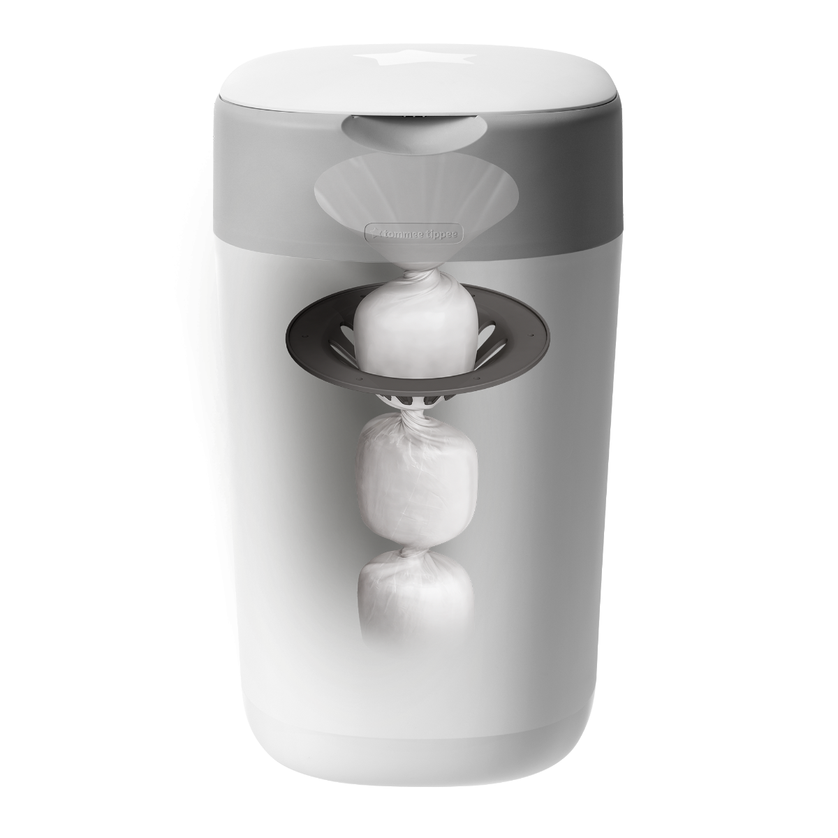white-twist-and-click-nappy-disposal-system