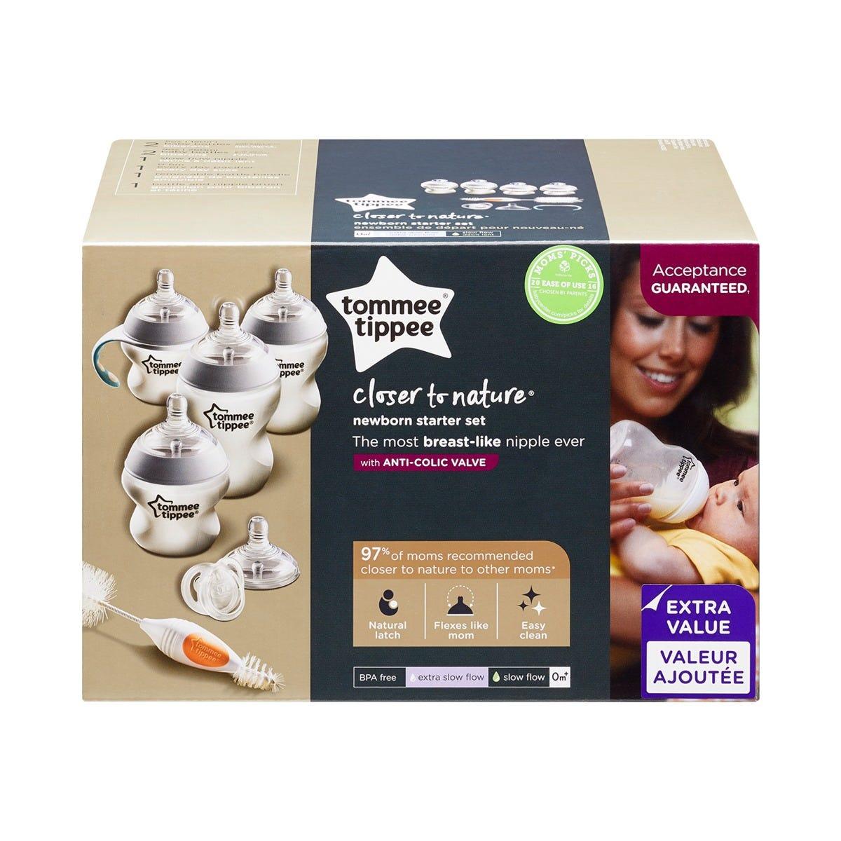 Closer to Nature Newborn Starter Set packaging