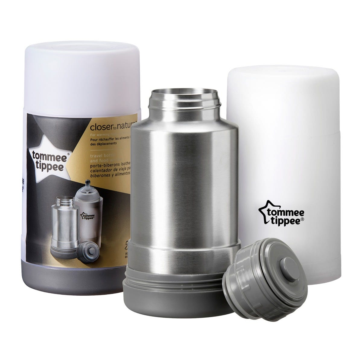 Travel Bottle and Food Warmer with packaging