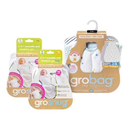 newborn-grosnug-and-0-6-month-grobag-star-print